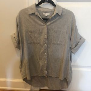Madewell Boyfriend Shirt